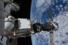МКС с пристыкованным Союзом. Из личного архива космонавта Геннадия Падалки