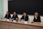 Министр науки и высшего образования РФ Михаил Котюков встретился со студентами и молодыми учеными НГУ