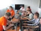 Школьники в компьютерном классе ЛШЮП-2017