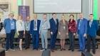 Сотрудники ИСИ А.Г. Марчук и П.Г. Емельянов на встрече с руководством Вымпелком