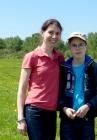 Татьяна Викторовна Батура с сыном Михаилом