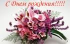 Поздравляем с днем рождения Орехову Л.Е.